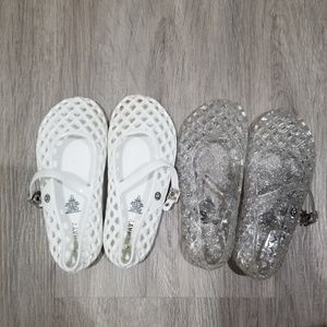 Old navy girls jelly shoes